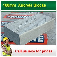 100mm aircrete blocks call for prices