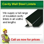 cavity wall steel lintels Call for prices